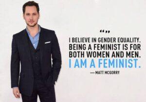 Matt male feminist