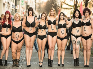 body positive people