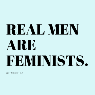 real male is feminist