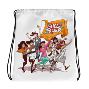 Unisex Girl power Collection Drawstring bag