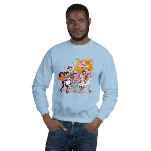 Light Blue GirlPower Unisex Sweatshirt