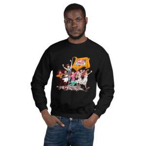 Black Unisex Girlpower Sweatshirt
