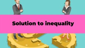 solution to inequality poster