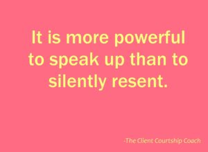 practice to speak up