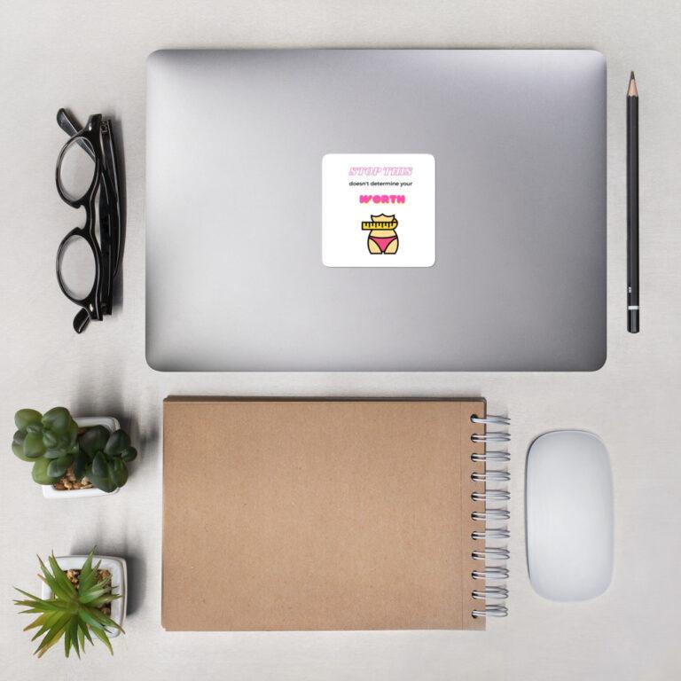 Unisex Your Worth Sticker