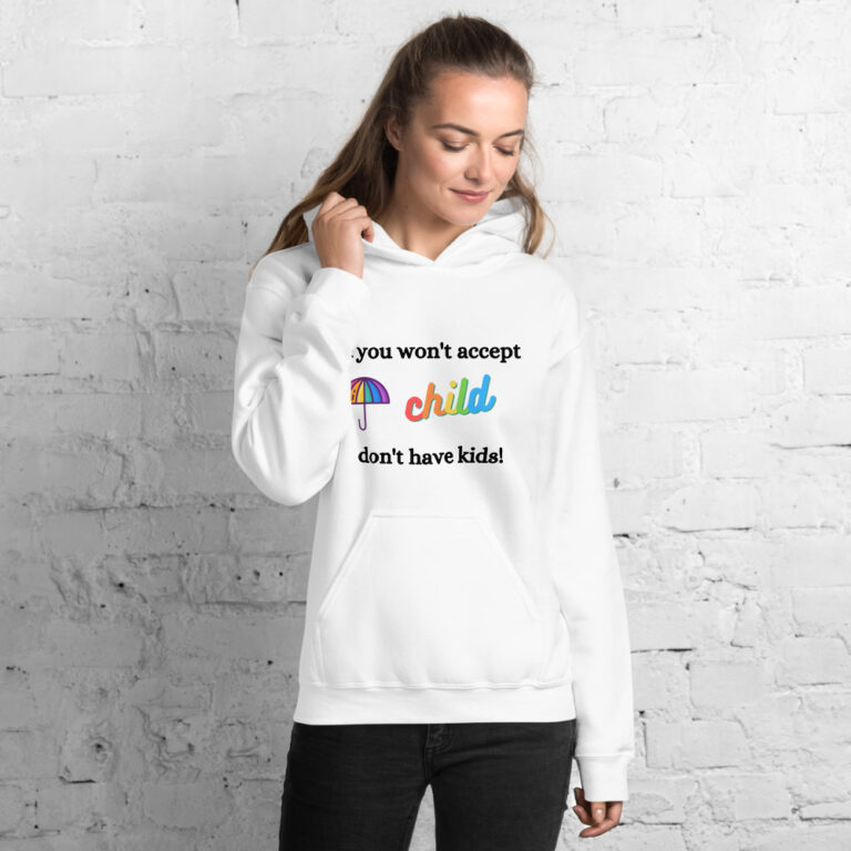 If you won't accept Unisex Hoodie