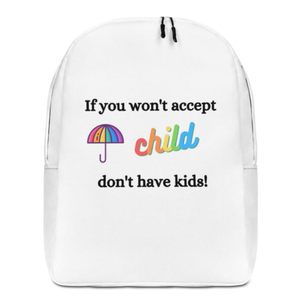 If you won't accept Backpack