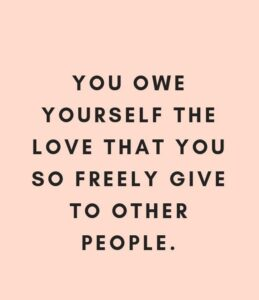 quote about loving yourself