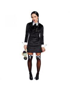 Wednesday Addams Best 90s halloween girls costume ideas