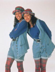 Tia and Tamara Halloween