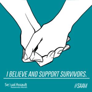 sexual assault awareness month support