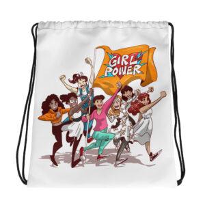 Unisex Girl power Collection Drawstring bag