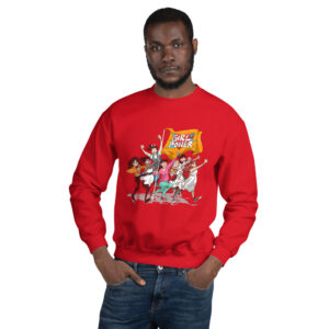 Red Girlpower Sweatshirt