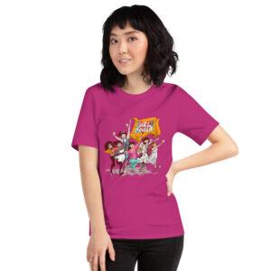 pink girlpower t-shirt girlpower