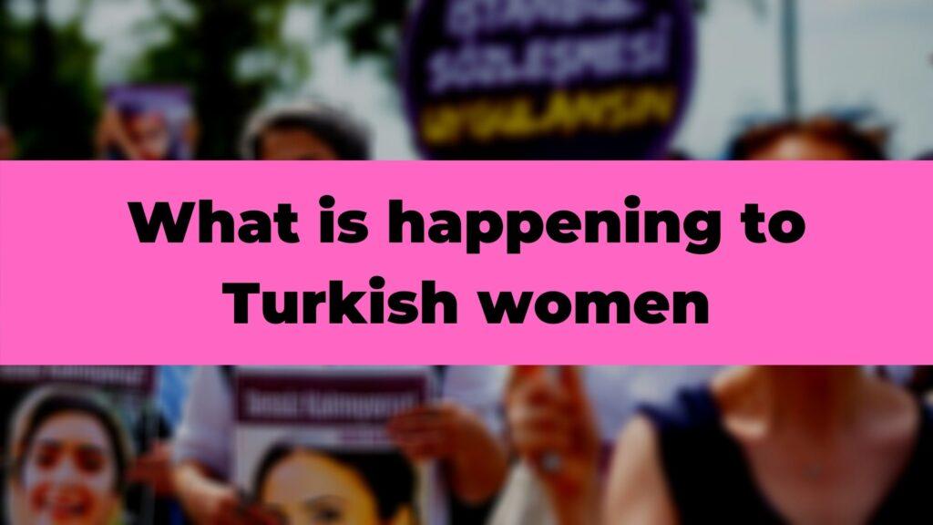 Turkish women poster