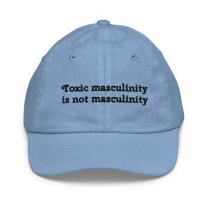 Toxic Masculinity Baseball Cap blue