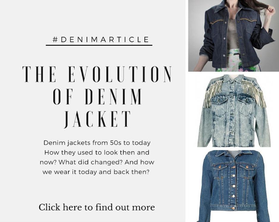 title picture evolution of denim jacket