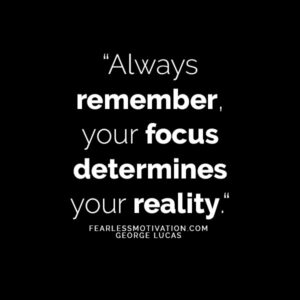 focus quote how to live your best life