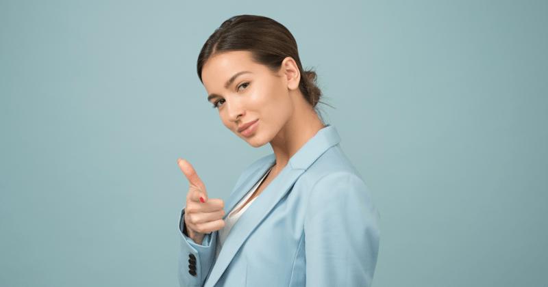Woman Confident