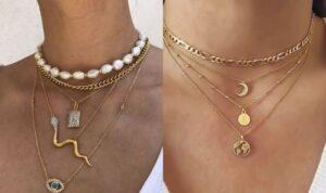 different necklaces